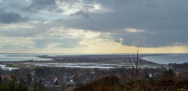 Blick über Hiddensee
