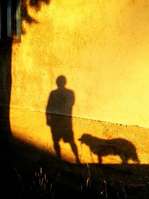 Me and my faithful shadow