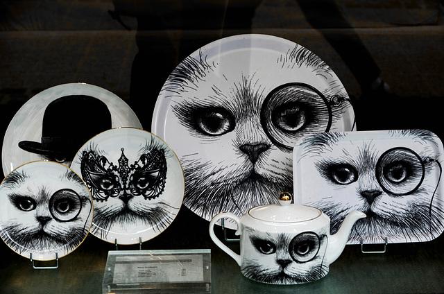 Vaisselle à chats