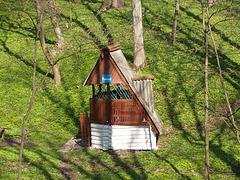 Верховня, Колодец в парке усадьбы Ганских / Verkhovnya, The Estate of  of Evelina Ganskaya, The Well in the Park