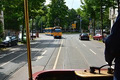Leipzig 2015 – Straßenbahnmuseum – A trip with tram 179 – 179 meets 2187