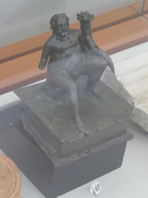 Musée archéologique de Split : SIlène.