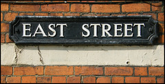 East Street street sign