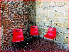 Drei Stühle