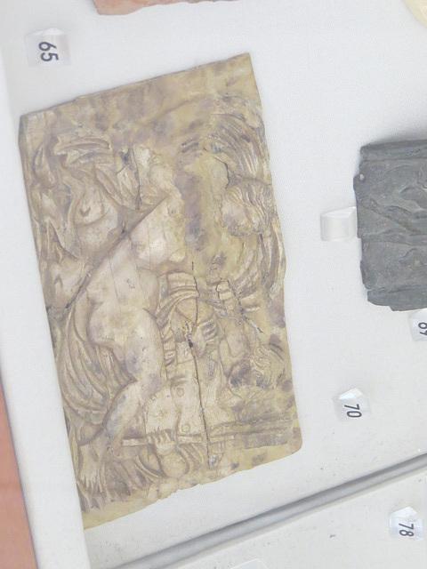 Musée archéologique de Split :  plaque votive ?