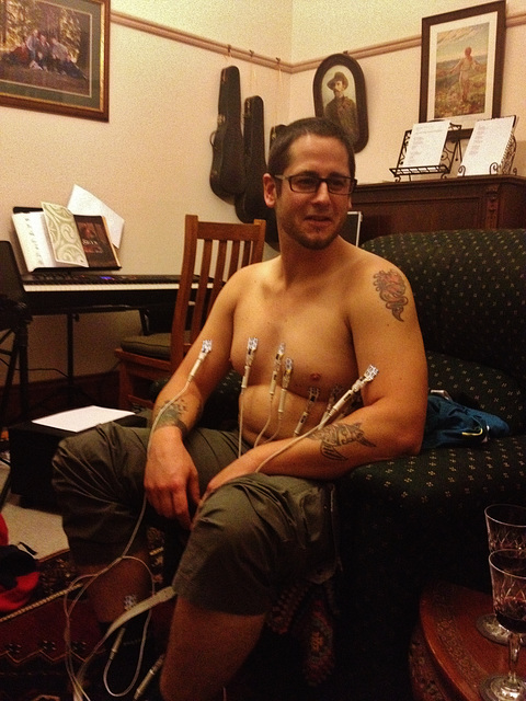 William gets an ECG