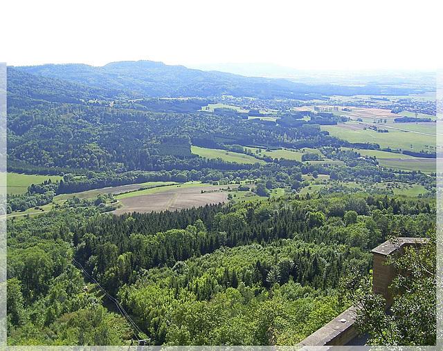 Aussicht von Burg Hohenzollern