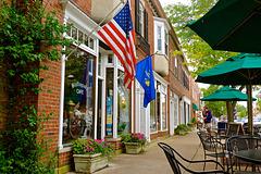 Bluffington's cafe
