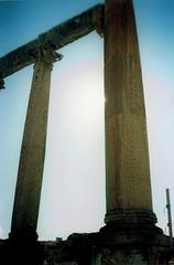 Columns along Cardus Maximus.
