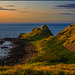 Sunset at Giant's Causeway