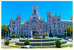 "Palacio de Cibeles ..........""Madrid City Hall (Ayuntamiento de Madrid)"
