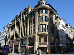 Das Hübner-Haus Ecke Neuer Wall/ Poststraße (4xPiP)