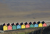 The Beach huts of Whitby