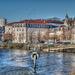 BESANCON:Le minotaure, le quai de Stasbourg.