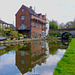 Coton Mill on the Shropshire Union canal
