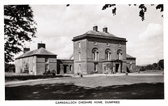 Carnsalloch House, Dumfries, Scotland (now badly fire damaged)