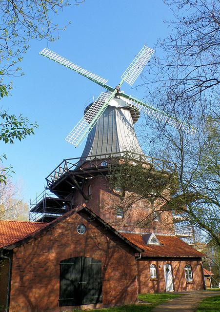 Windmühle in Stade, Schiffertor Straße