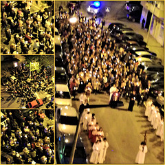 Good Friday, the Via Sacra Procession in my street