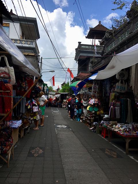 Ubud Le marché