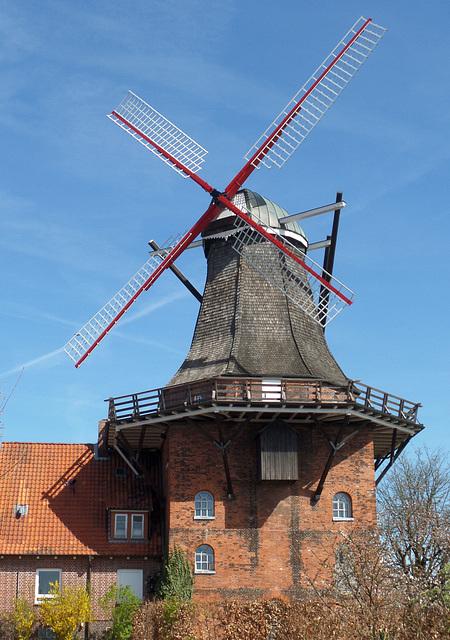 Windmühle in Borstel bei Jork