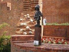 Monument to the Little Insurgent of 1944.