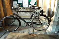 Bicycle in the Church Porch