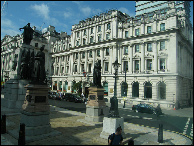 Waterloo Place statues