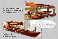 Leisure craft - The River & Rowing Museum - Henley-on-Thames - 19.8.2015