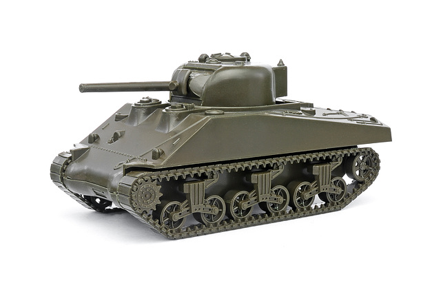 Herpa Sherman tank