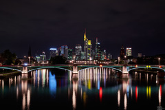 Nightshot of Frankfurt