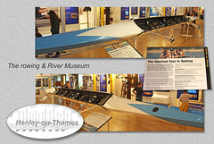 Olympic Coxless fours boat 2000 - The River & Rowing Museum - Henley-on-Thames - 19.8.2015
