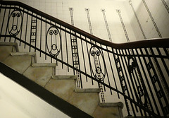 Treppengeländer im Hübner-Haus (PiP)