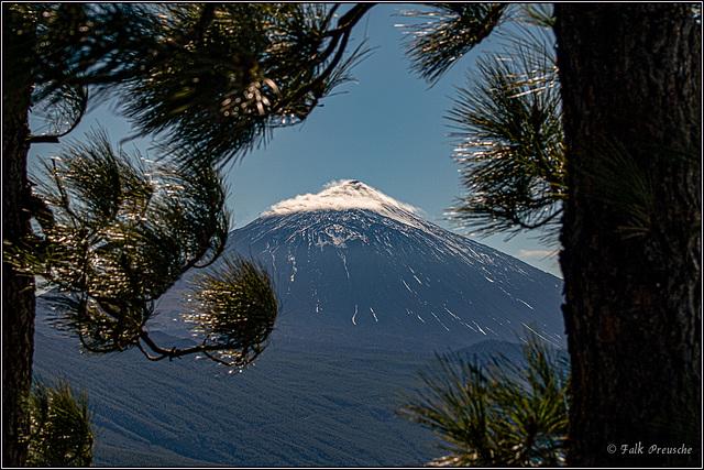 Durchblick zum Teide