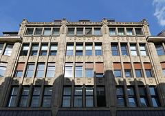 Fassade des Hübner-Hauses in der Poststraße (4xPiP)