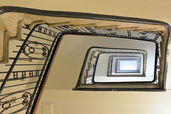Treppen-Spirale im Hübner-Haus (PiP)