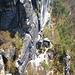 Bastei - Blick auf den Rahm-Hanke Weg