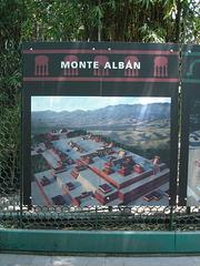 Affiche du Monte Albán.