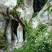 La Madonna with Roses in Lourdes France : The Grotto of Massabielle,by ♥ Cathy Cotte ♥