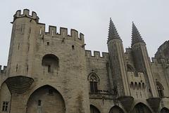 Le Palais des Papes d'Avignon, Vaucluse (France)