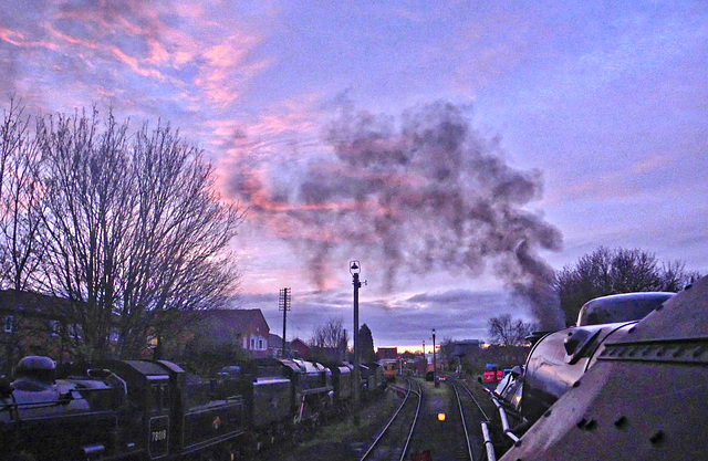 Great Central Railway Loughborough Leicestershire 4th January 2020
