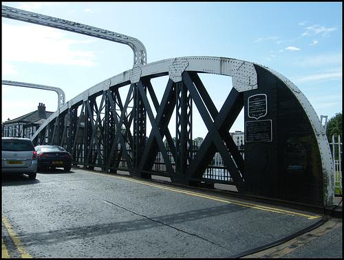 Northwich swing bridge