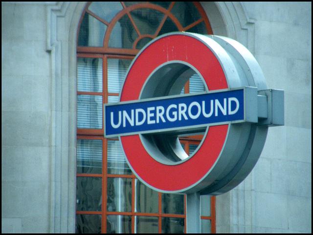 Charing Cross Underground sign