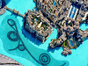 Dubai : la gigantesca fontana notturna ai piedi del Burj Khalifa