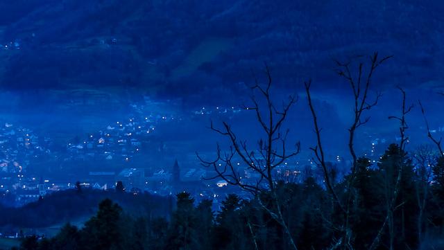 et la nuit tombe sur Hohrod