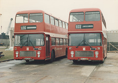 Eastern Counties RAH 269W and BVG 225T - Feb 1985