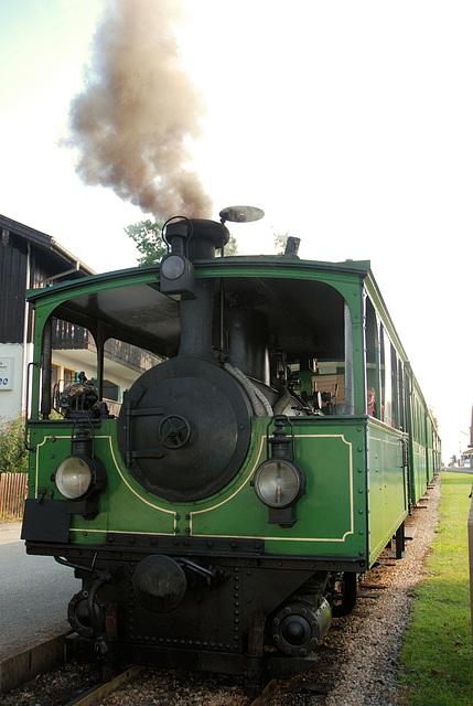 Dampflok der Chiemseebahn