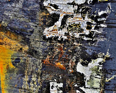 Peeling and Flaking But Not Worn Away