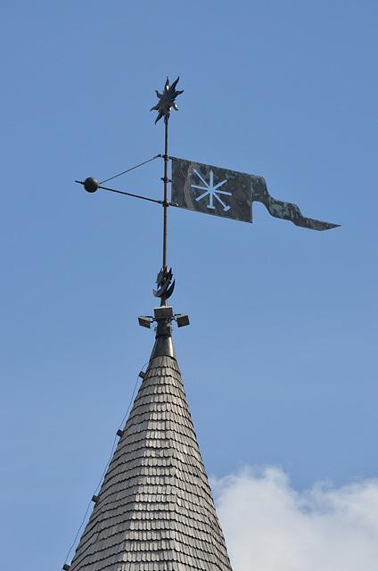 Каменец-Подольская Крепость, Флюгер Тенчинской Башни / Kamyanets-Podolsky Fortress, Weather Vane on the Tenchin Tower