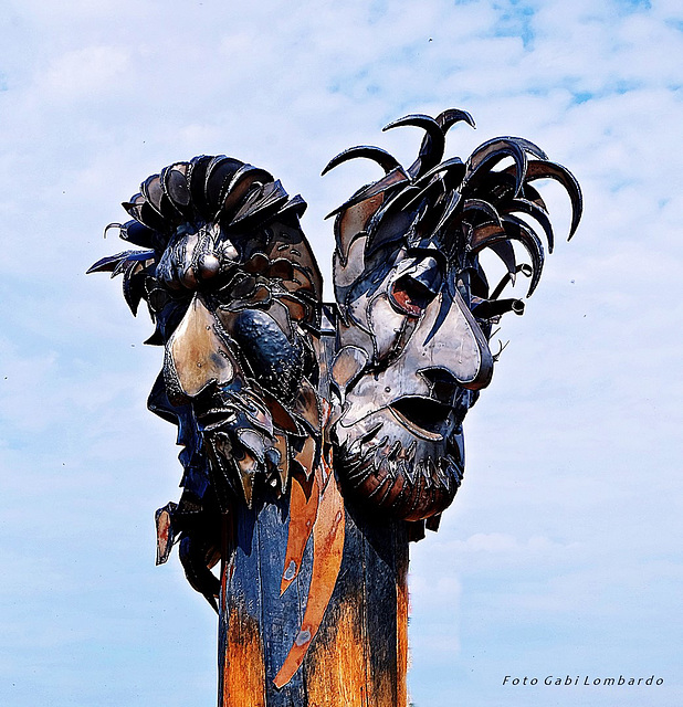 masks in the wind