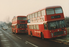 Eastern Counties MCL 941P and XNG 206S - 6 Dec 1983